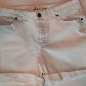 Style & Co.   Women's Jean Shorts Sz 12